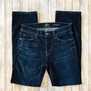 11108 ✨ 7 FOR ALL MANKIND Mens Jeans Straight
